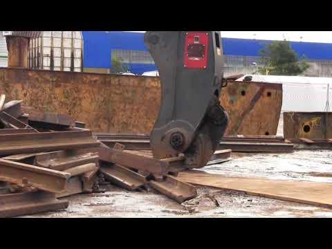 Rail Cutting Shear Attachment