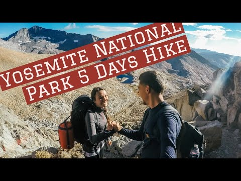Our 5 days hike with the wildnerness permit in Yosemite-Nationalpark, USA