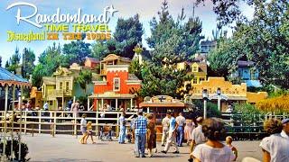 Frontierland in the 1950s! Disneyland Time Travel - Randomland
