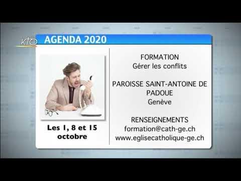 Agenda du 25 septembre 2020