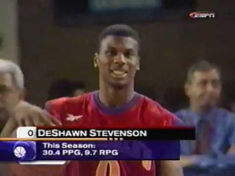 DeShawn Stevenson Wins 2000 High School Slam Dunk Contest (McDonald's All-American)