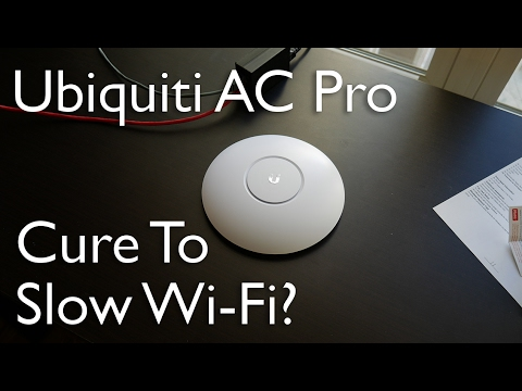 Let's Upgrade This Wifi | Ubiquiti Unifi AC Pro