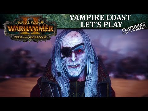 Vampire Coast Let's Play | Total War: WARHAMMER II - Curse of the Vampire Coast thumbnail