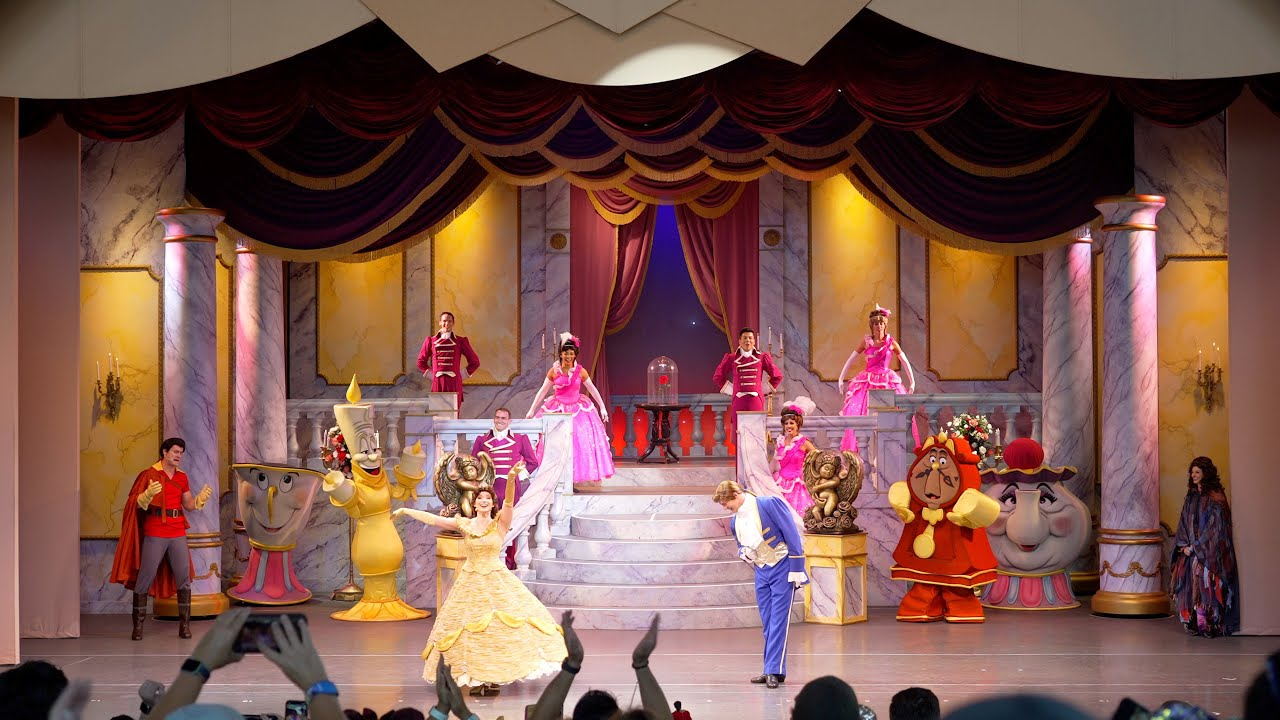 Beauty and the Beast -- Live on Stage reopening August 2021