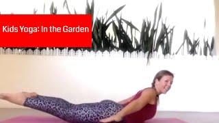 8-Min Yoga Session for Kids: In the secret garden