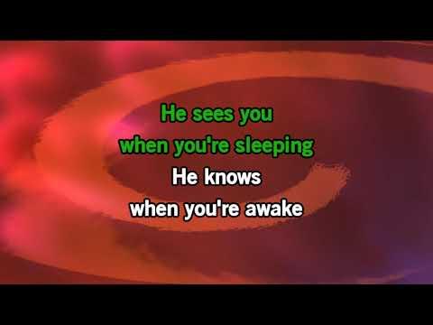 Santa Claus Is Comin to Town -Jessie J (Karaoke)