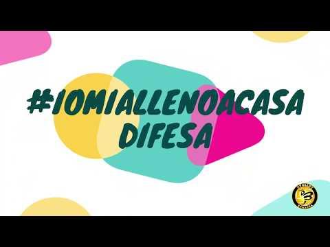 Preview video #iomiallenoacasa #difesa
