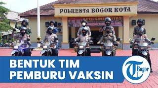 Polresta Bogor Kota Bentuk Tim Pemburu Vaksinasi, Anggotanya Terdiri Srikandi Polri, TNI dan Pemkot