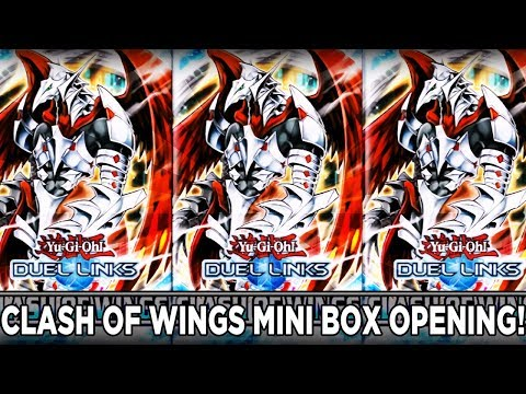 Clash of Wings New Box Opening!  | YuGiOh Duel Links w/ ShadyPenguinn