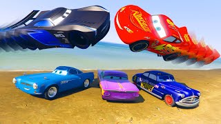 Jackson Storm Cars 3 McQueen and Friends Finn McMissile Doc Hudson Ramone Videos for Kids & Songs