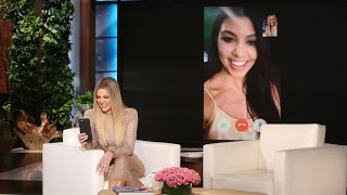 Khloé Surprises Kourtney with a Game!