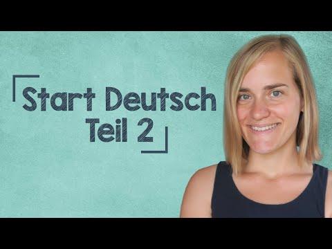Start Deutsch 1 Oral Exam - Part 2 - Goethe Institute - Prep - A1