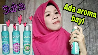 Review Parfum Bodyspray Posh Hijab Chic