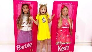 Настя и её новые куклы
