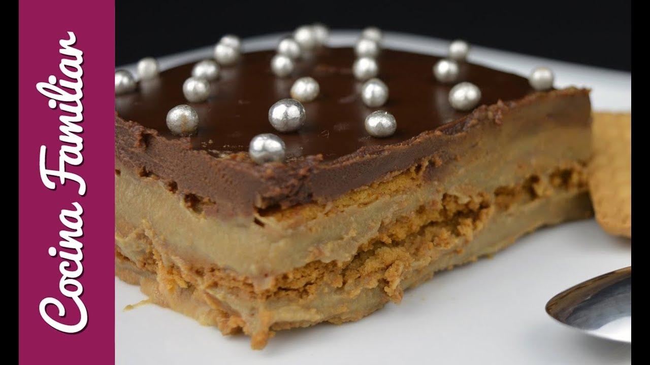 Tarta de galletas de la abuela con crema de café | Javier Romero