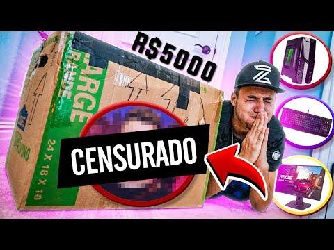 CAIXA MISTERIOSA DE UM YOUTUBER FAMOSO! (R$5000)
