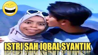 Gambar cover Tahan Tawa!! Vidgram Lucu Nuraini Istri Sah Iqbal Ramadhan (Dilan)