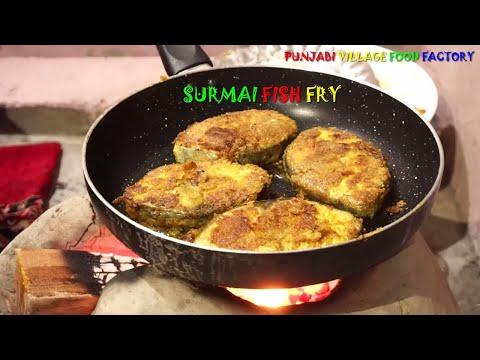 Machi Fry 🐟 Fish Fry 🐟 Fish Fry Recipe 🐟 Surmai Fish Fry 🐟 Fried Fish 🐟 Crispy Fish Fry