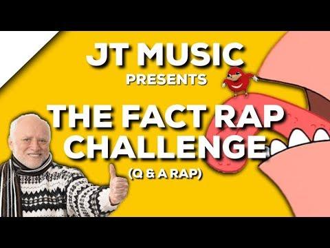 Fact Rap Challenge - Rap God - JT Music (Prod. A-FI Beats)   Daddyphatsnaps