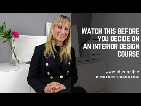 Watch this before you decide on an interior design course - YouTube