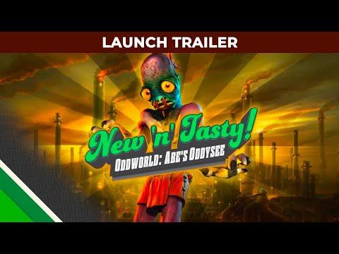 Trailer de lancement pour la version Switch de Oddworld: New and Tasty