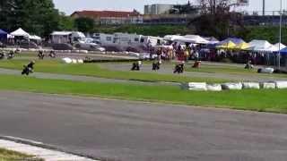 preview picture of video 'Andrea#97  Trofeo S.S.B.K. Cat. Open Hobby Pista Big Kart Rozzano 5/10/2014 Gara 1'
