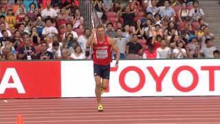 Adam Sebastian Helcelet - javelin throw 63.07m - WCH 2015 Beijing