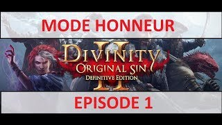 [FR] Divinity Original Sin 2 EE - Let's Play - Episode 1 - En Mode Honneur -