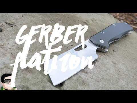 Gerber Flatiron Cleaver, Impractical BUT Highly Addictive!!