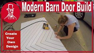 How To Build A Modern Sliding Barn Door