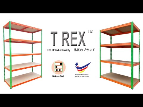 How to install and assemble a boltless rack - T Rex Metalware