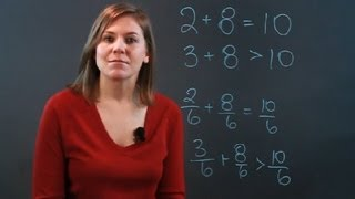 What Is a Fraction Number Sentence? : Fractions & Percentages