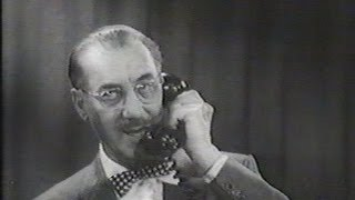 Download Video You Bet Your Life #57-24 Groucho tests his popularity with a phone survey ('Room', Mar 6, 1958) MP3 3GP MP4