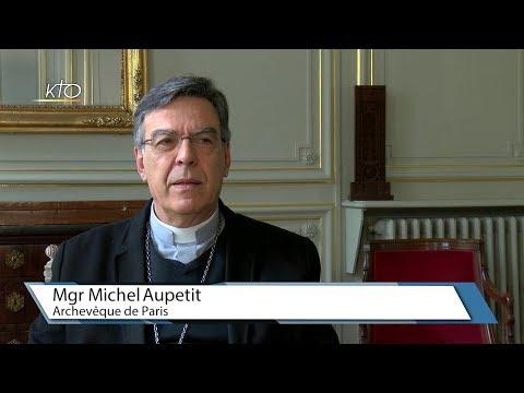 """Mgr Aupetit : """"Rebâtis mon Eglise !"""""""