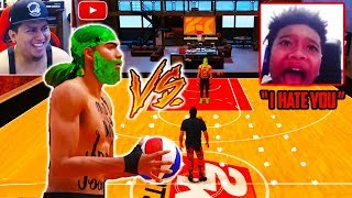 i Challenge my #1 Hater to 1v1 but he doesn't know i set him up into a Trap 😂🤣🤣🤣 Nba 2K19 RAGE