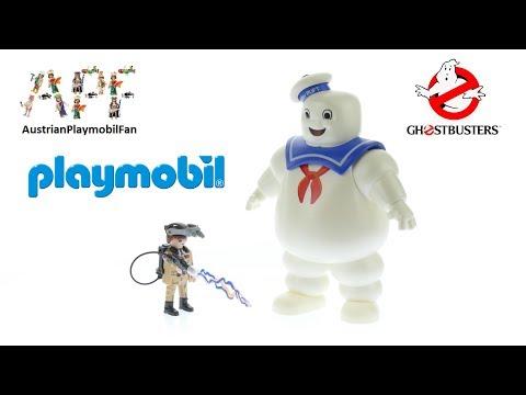 Vidéo PLAYMOBIL Ghostbusters 9221 : Bibendum Chamallow et Stantz