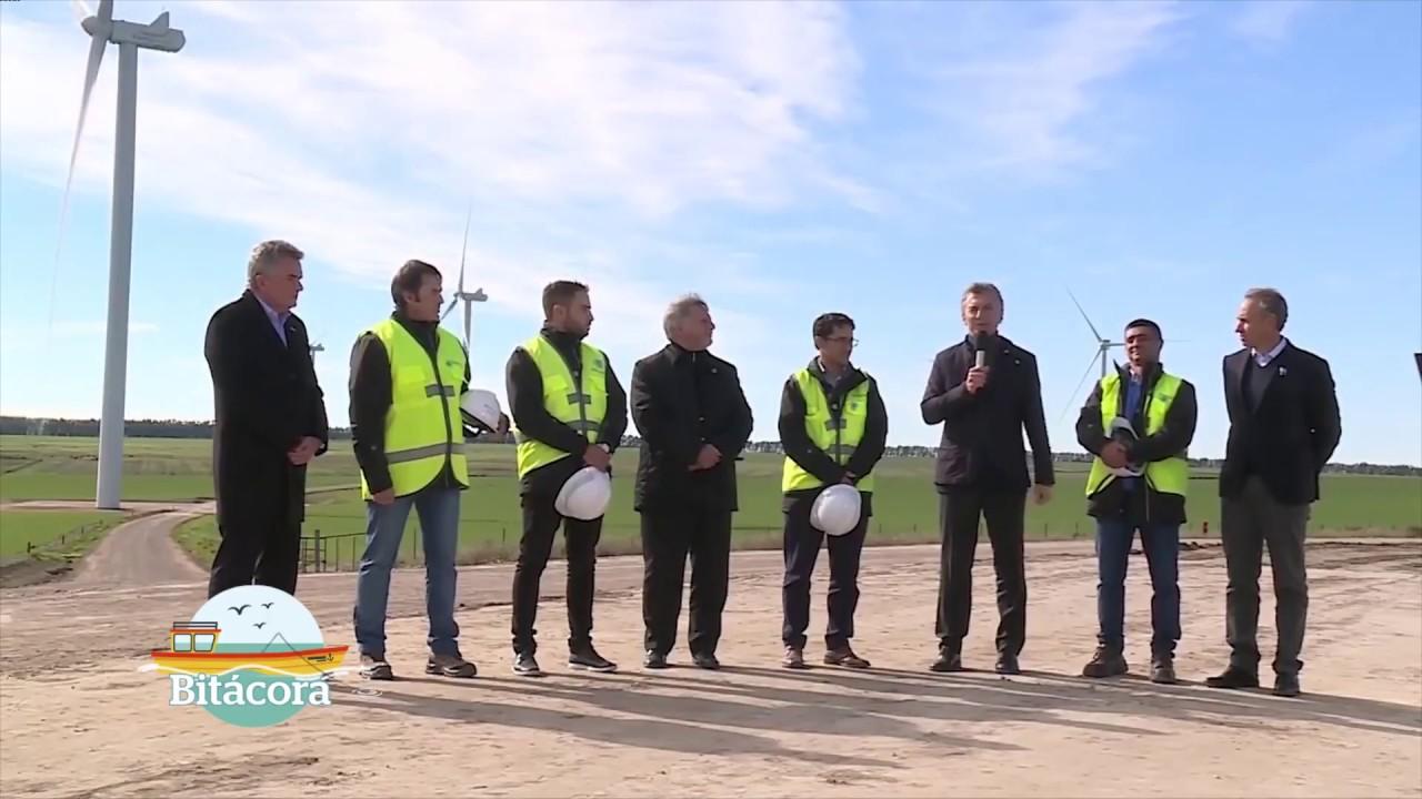 Inauguración Parque Eólico Corti