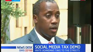 Ugandan police fire live bullets at demonstrators against Social Media Tax
