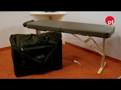 ClapTzu: mobile Massageliege LINEA