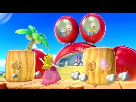 Super Mario Party - All Survival Minigames (2 Player)