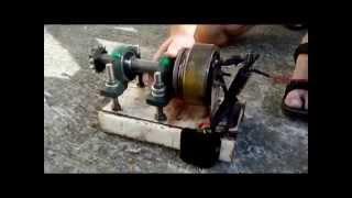 Motorcycle alternator hydro project
