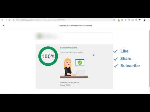 Google Adwords Fundamentals Exam Answers April 2019 - 100 ...