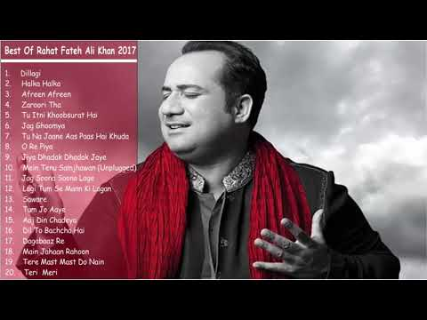 Download Best of Rahat Fateh Ali Khan | Top 20 Songs | Jukebox 2018 HD Mp4 3GP Video and MP3