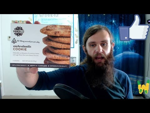 Marijuana edible review: Kaneh Co. Snickerdoodle Cookie 100 mg