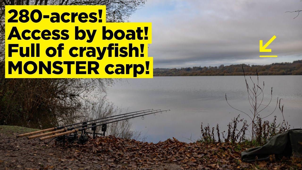 Tackling a 280-acre carp fishing lake! Luke Venus' latest challenge is a BIG one!