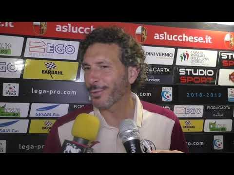 Lucchese-Arezzo 0-1, intervista a mr Dal Canto