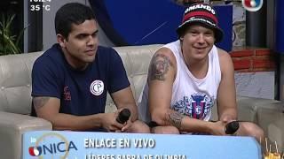 Líderes de barras de Olimpia y Cerro en La Unica Tarde