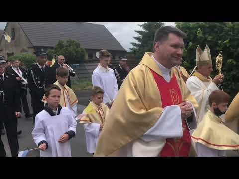 Wideo1: Relikwie św. Jana Pawła II w Goniembicach