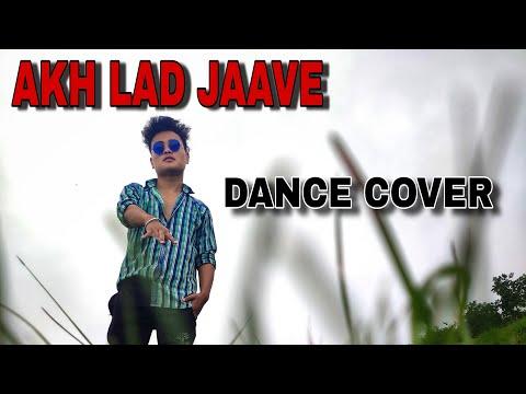 Akh_Lad_Jaave//Loveyatri//Dance by Anivesh rawat (poptron)