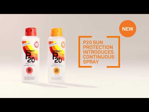 How To Apply P20 Continuous Spray 10Hr Sun Protection